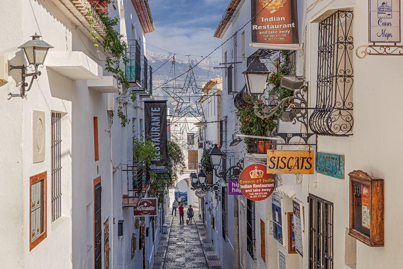 Costa Blanca Booking  Informacion Altea  Rodeada de
