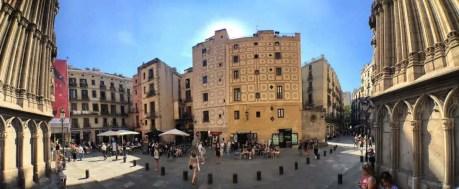 Barcelona - Santa Maria del Mar - Stadtteil El Born