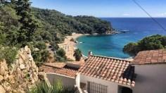 """Die """"Cala Canyelles"""" ist eine der letzten Buchten vor Lloret de MAr"""