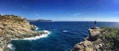 Eine der letzten spektakulären Stellen bevor wir das Naturschutzgebiet des Cap de Creus in Richtung Roses verlassen