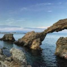 Kurz vor L'Escala wird die Küste nochmal etwas wilder!