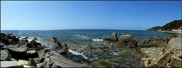 Quercianella il mare le spiagge