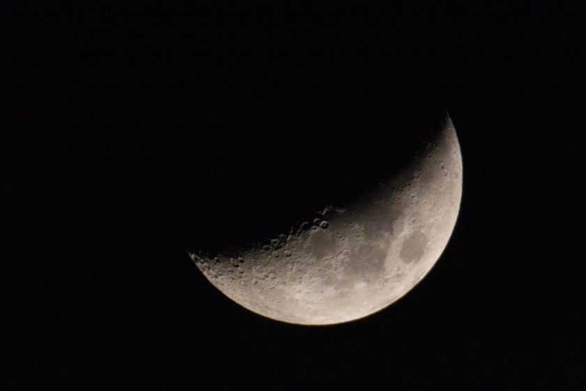 Moon photo taken summer 2018