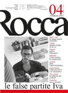 Copertina rivista ROCCA 15 febbraio 2916