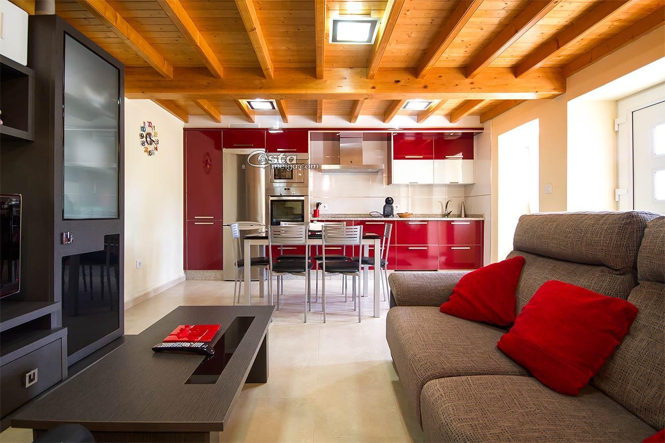 Alquiler temporada casa en Carnota  CostaMeiga