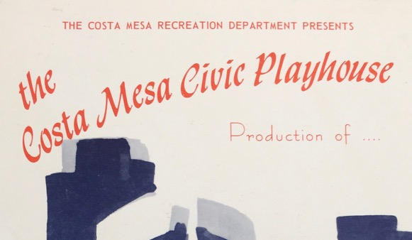 How the Costa Mesa Playhouse Got its Start