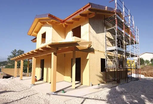 Realizzare la tua casa in legno non è mai stato così semplice! Case Strutture E Tetti In Legno Lamellare Costantini Sistema Legno