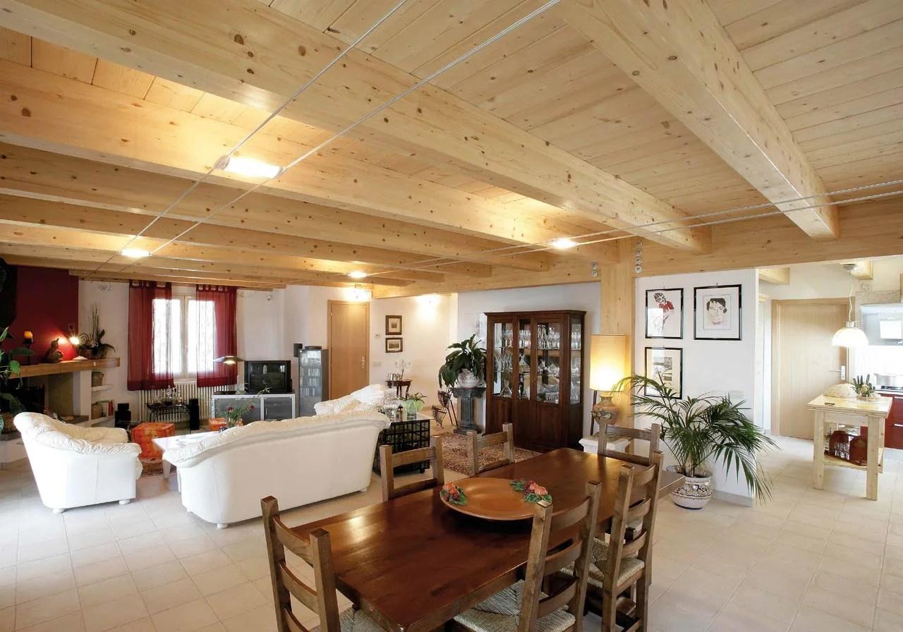 Piano terra 65 m 2 + piano superiore 60 m 2 + terrazza 40 m 2. Casa A Due Piani Umbria Terni Costantini Sistema Legno