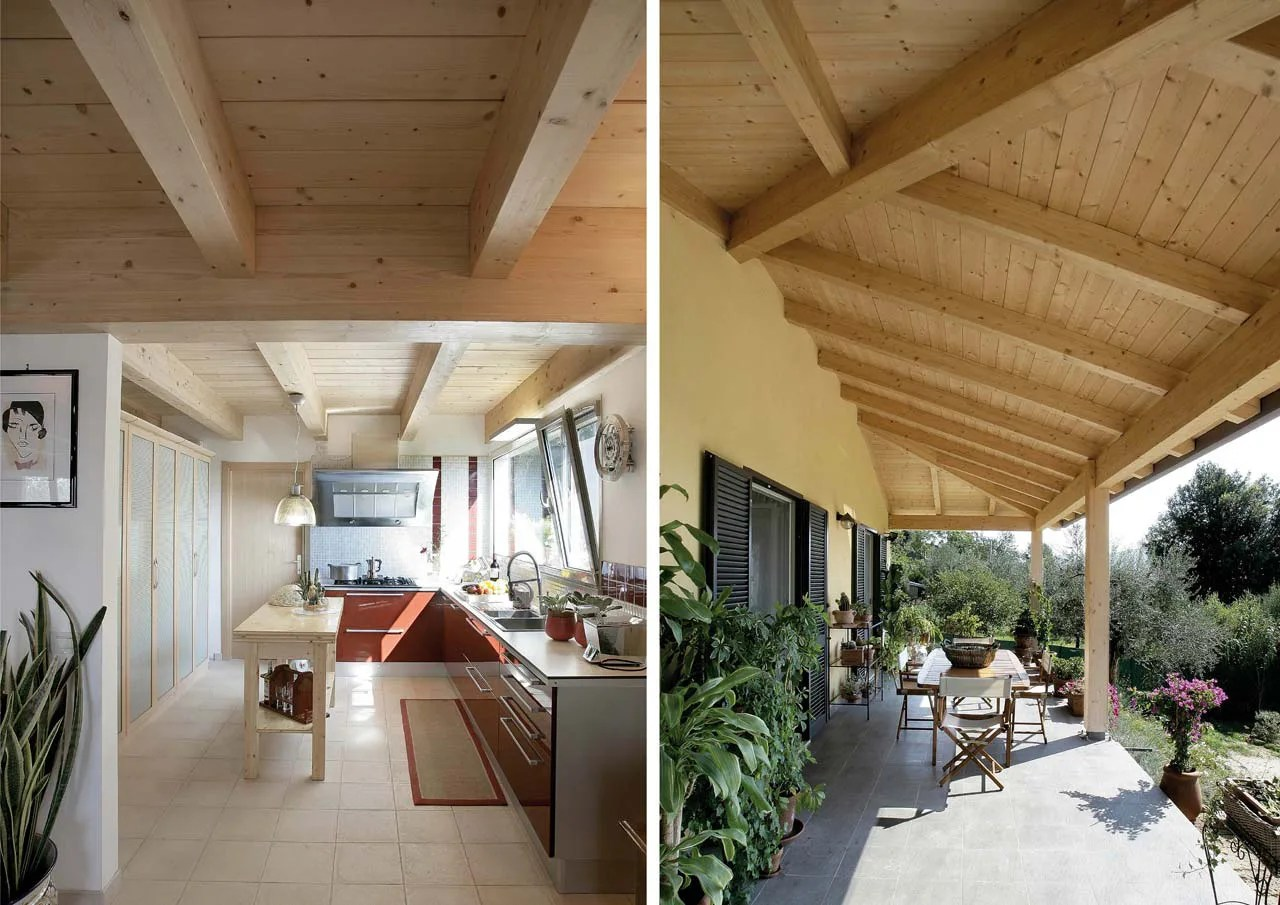 Casa a due piani  Umbria  Terni  Costantini Sistema Legno