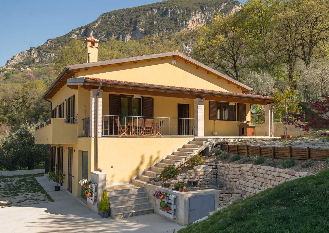 Casa in legno  Terni  Costantini Sistema Legno