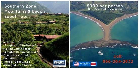 Costa Rica Living Mountains or Beach?
