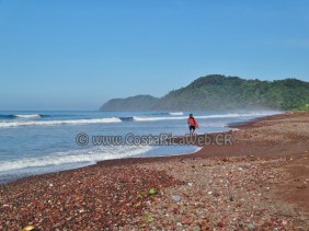 Jaco Beach in Garabito, Puntarenas, Costa Rica