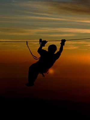 el establo ziplining