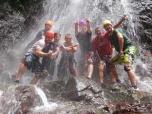 Xtreme Tours Waterfall Rappelling