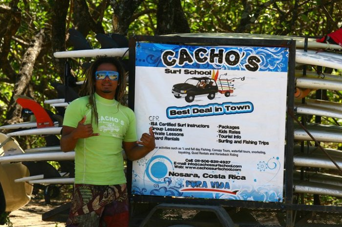 Cacho's Surf School 1