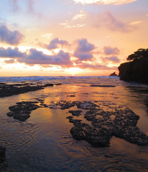 pelada-sunset