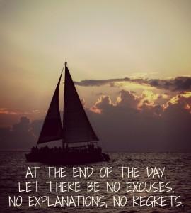 no life excuses