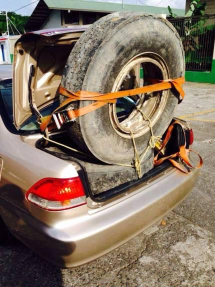 Costa Rica Spare Tire