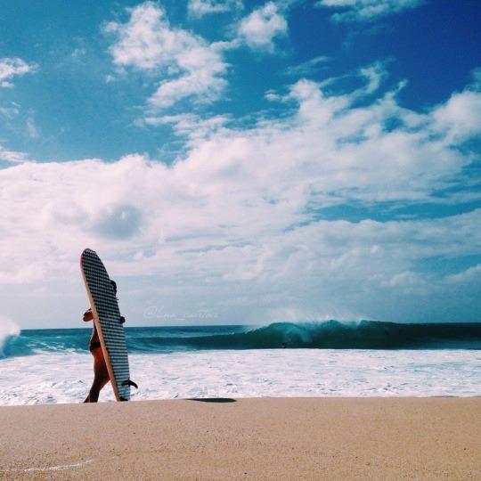 surf girls in bikinis