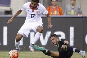 Soccer Player Johan Venegas costa rica