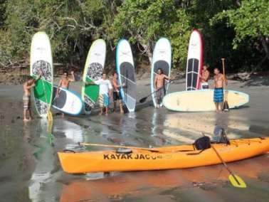 jaco beach kaying tour
