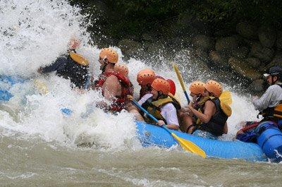 rafting vacation costa rica