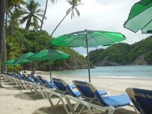 beach day on the island
