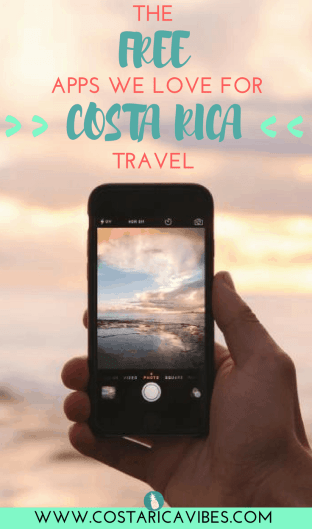 Traveling in Costa Rica is so much easier if you have these great free apps for travel. Click here to find great apps for Costa Rica transportation, accommodations, food, and more! #CostaRica #budgettravel
