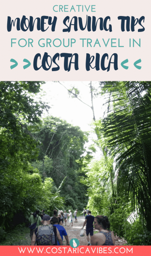 Planning a group travel for family or friends in Costa Rica can be a lot of work. This guide will help you organize your trip and save a lot of money in the process. #CostaRica #travel #grouptravel