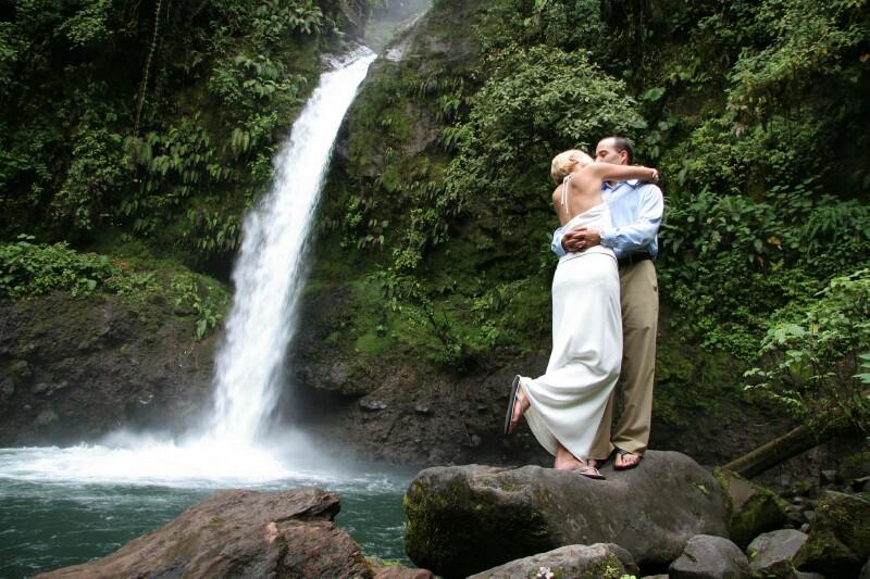 Waterfall Elopement Wedding in Costa Rica  Costa Rica