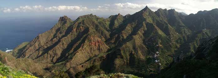 Las montañas de Anaga, Tenerife