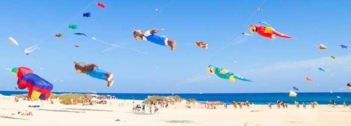 Festival de las cometas en Fuerteventura
