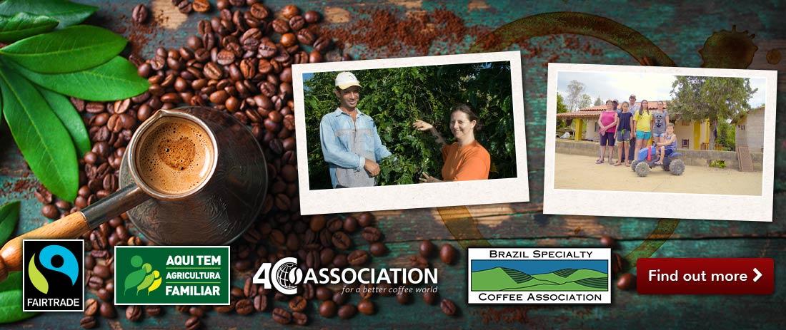 Premium Brazilian Coffee from the South of Minas Gerais 100% Arabica beans