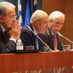 """Εκδήλωση του Ιδρύματος Κωνσταντίνου Σημίτη με θέμα: """"Ευρώπη σήμερα, Ευρώπη αύριο"""" με τους R. Prodi, Κ. Σημίτη & Π. Ιωακειμίδη"""