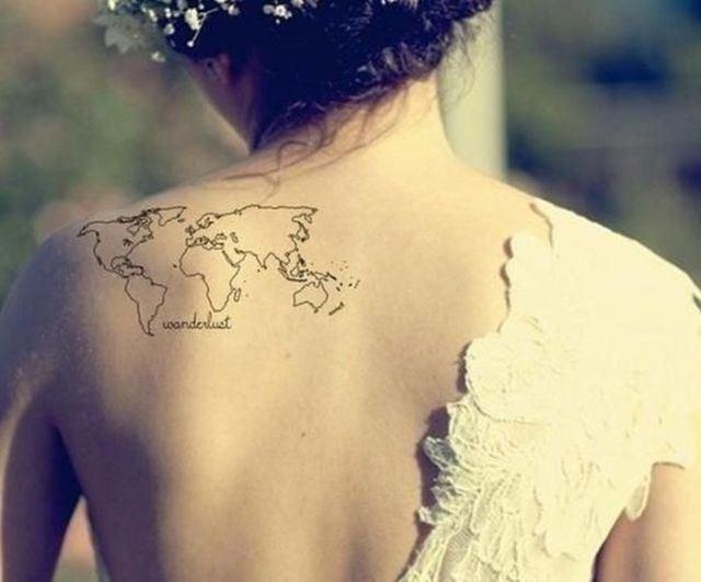 Tatuajes Que Nos Incitan A Viajar