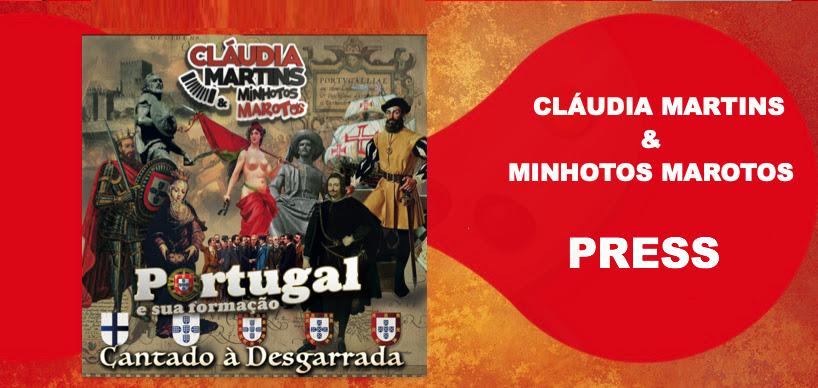 Cláudia Martins e a musica