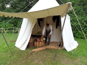 Period style tent
