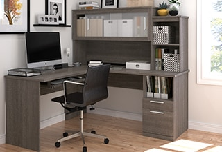 office chair kelowna hickory leather couch furniture costco collections desks