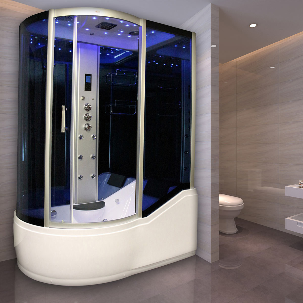 insignia steam shower with