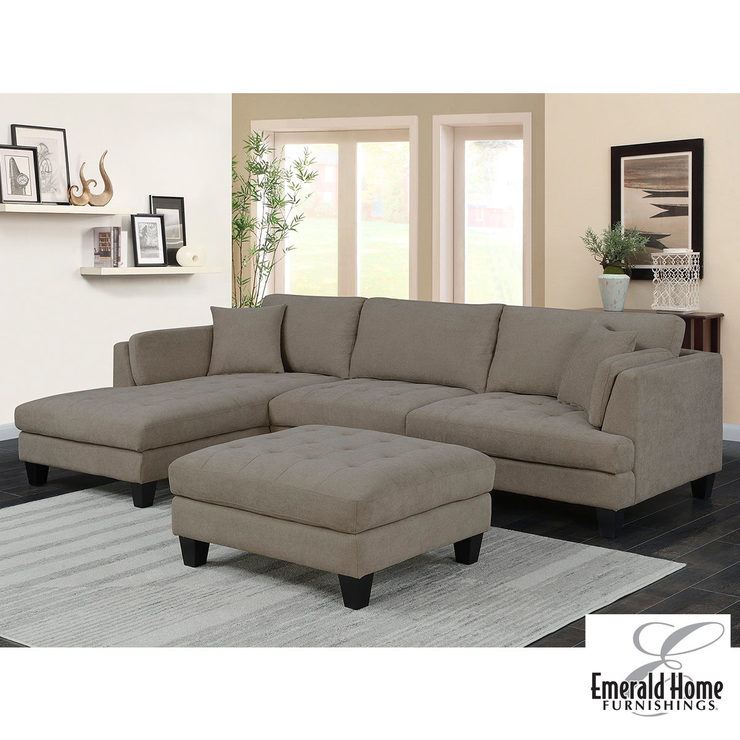 sofa at costco uk 3 seater bed covers noel fabric sectional with ottoman 2 accent pillows