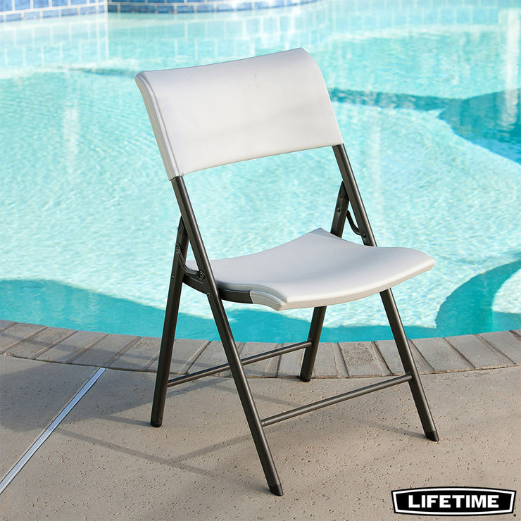 folding chair uk medical shower chairs lifetime light commercial pack of 4 costco