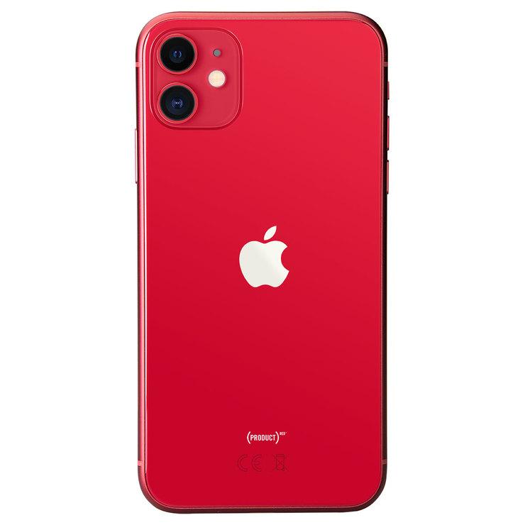 Apple iPhone 11 128GB Sim Free Mobile Phone in Red. MWM32B/A   Costco UK