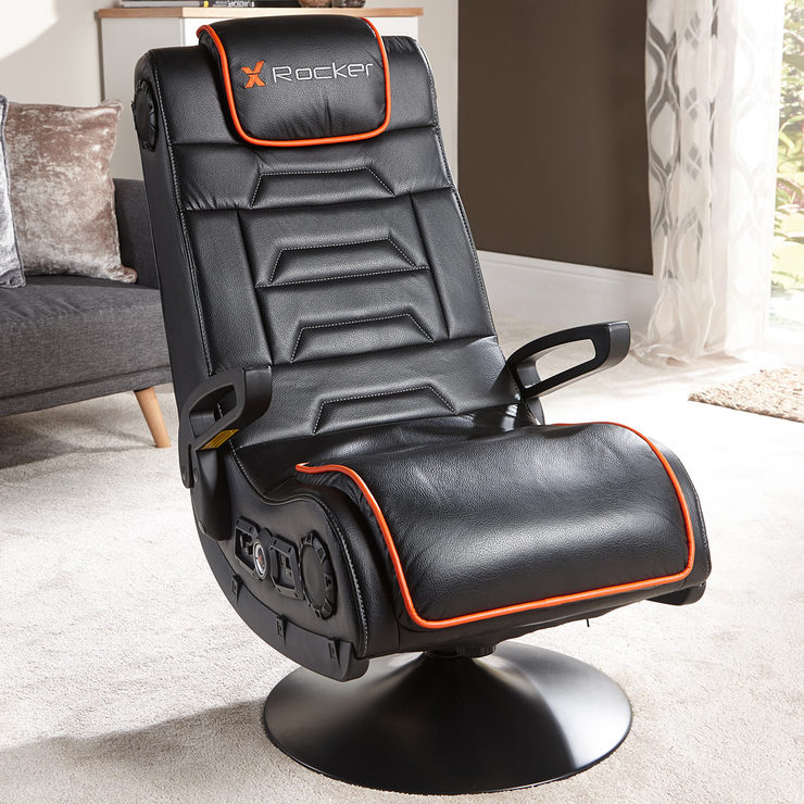 x rocker gaming chair wayfair wingback chairs afterburner with wireless connectivity bluetooth audio costco uk