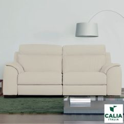 Bed And Sofa Warehouse Leeds Snack Table Canada All Sofas Calia Italia Cream Italian Leather Serena 3 Seater Power Recliner