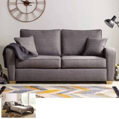 Fabric Sofas Uk Cheap Sofa Set In Delhi Las Vegas 2 Seater Bed With Foam Mattress Grey Costco