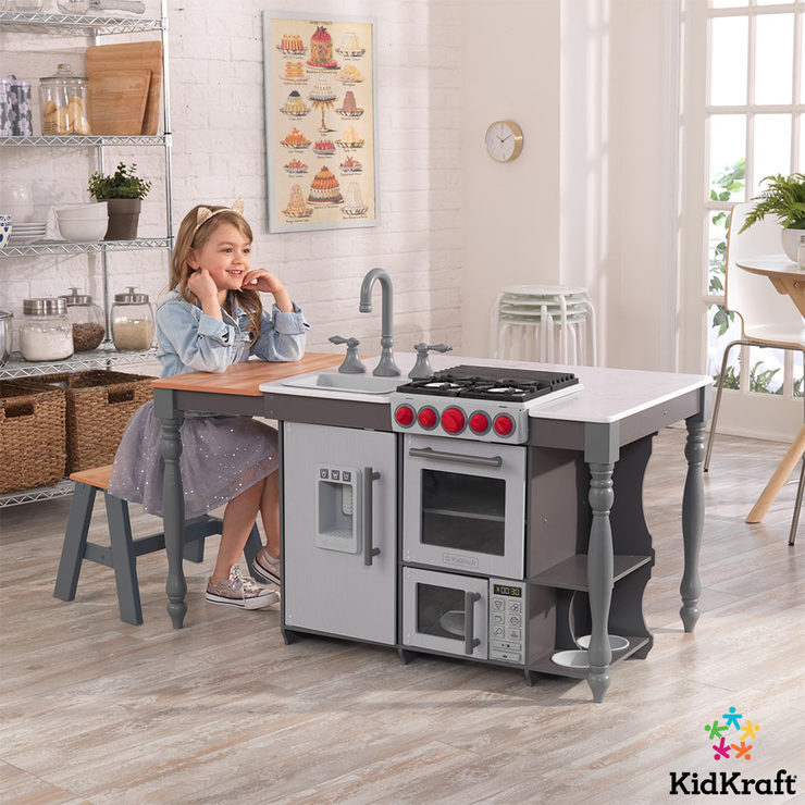 costco kitchen island kitchens with islands kidkraft chef s cook n create ez kraft assembly 3 years uk