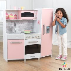 Kid Craft Kitchen Rental Nyc Kidkraft Large Play In Pink 3 Years Costco Uk