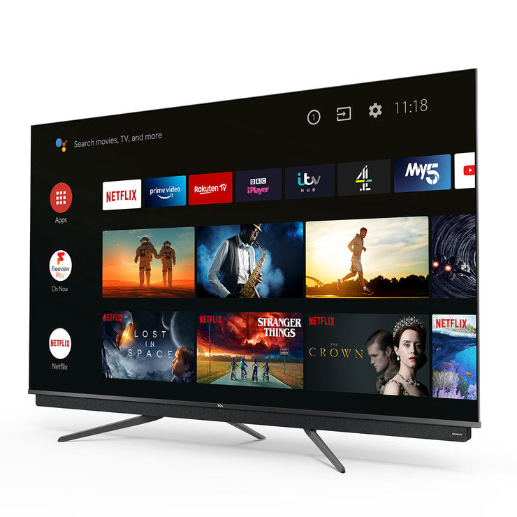 TCL 55C815K 55 Inch QLED 4K Ultra HD Android TV   Costco UK
