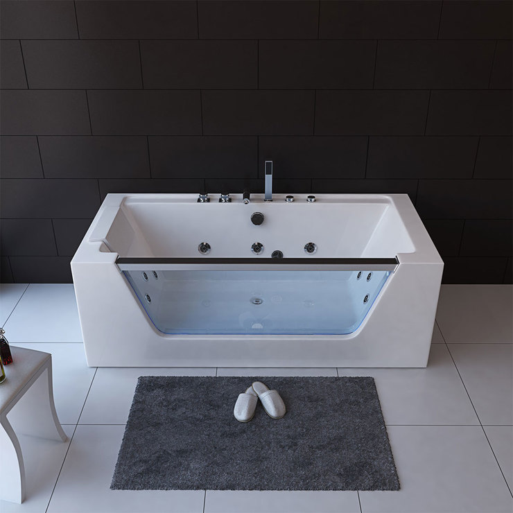 Platinum Spas Florence 1 Person Whirlpool Bath Tub In 3 Sizes Costco Uk