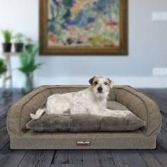 Costco Sofa Pet Bed A In The Forties Heaney Kirkland Signature 64 X 89 Cm Bolster Brown Uk